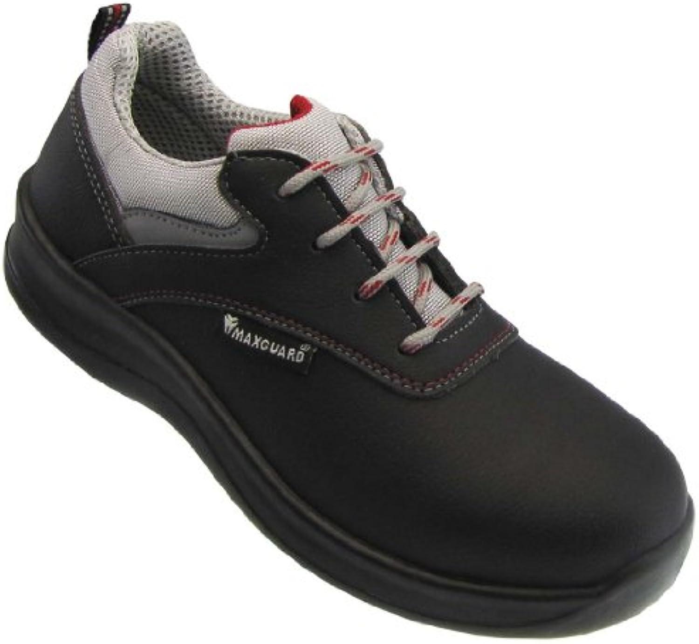 Maxguard sichheits Zapatos de clase D D320 de S3 – Negro, mujer, schwaz, 37 EU