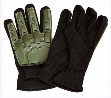 Paintball Handschuhe Protectoren - oliv, Größe: M des Herstellers McPaintball