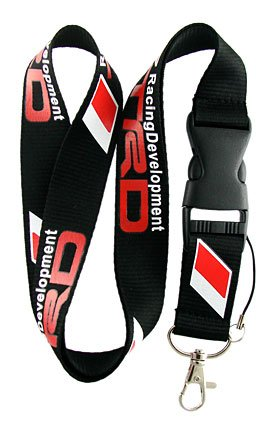 trd-toyota-racing-development-lanyard-keychain-holder-with-snap-buckle
