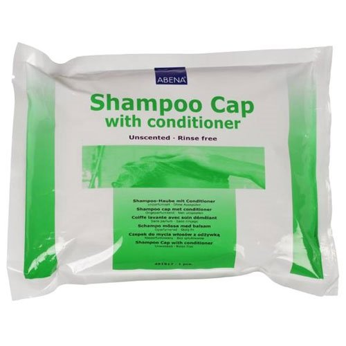 Pack of 3 Shampoo Caps Rinse Free Waterless with Caresupermarket Pen