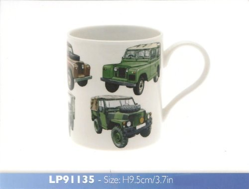 Classic 4 x 4 Collection Fine China Mug Gift Boxed by The Leonardo Collection -