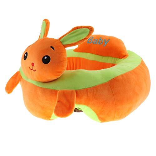B Blesiya Baby Sitzsack Sitzkissen weicher Sofa Sessel Baby-Unterstützung Plüsch Spielzeug - Hase