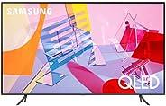 Samsung 55 Inch TV Smart QLED Flat 4K Quantum Processor AI Upscale Motion Rate 100+ PQI 3100 Quantum HDR Mega