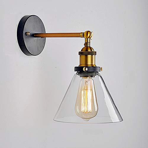 Lightess Apliques Pared Lámpara Vintage Lámpara