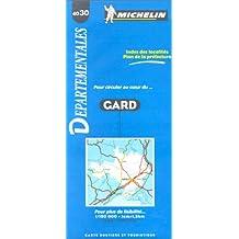 Carte routière : Gard, 4030, 1/150000