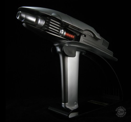 Star Trek Into Darkness Replik 1/1 Phaser mit Metallbeschichtung
