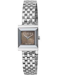 Gucci G-Frame Reloj de Mujer Cuarzo 22mm Correa y Caja de Acero YA128514 481d8e3b620e