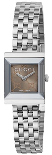 Gucci G-Frame Reloj de Mujer Cuarzo 22mm Correa y Caja de Acero YA128514