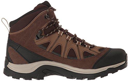 Salomon L39466800, Chaussures de Randonnée Homme Noir (Black)