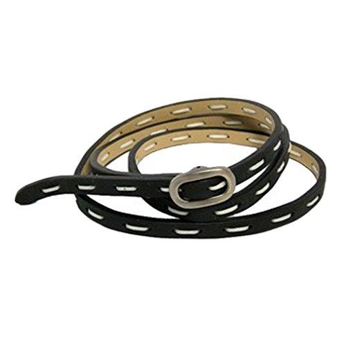 tokyobay-black-leather-stitched-wrap-bracelet