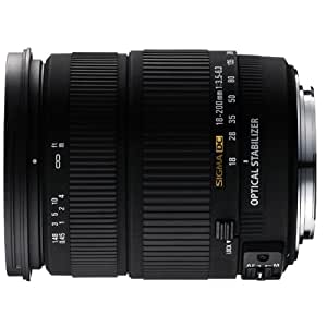 sigma objectif 18 200 mm f3 5 6 3 dc os 6 photo cam scopes. Black Bedroom Furniture Sets. Home Design Ideas
