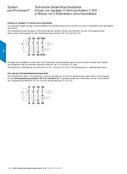 Abb Fi-schutzschalter 63a F204a-63 0,03 1