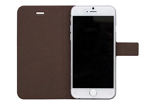 FENICE Diario Ver. 2Etui à rabat pratique avec innovantes Magic Tape Support, magnétique, compartiments & Support pour le Apple iPhone 6 rosa