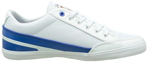Kaporal Tinker, Baskets Basses Homme Blanc (Blanc/Bleu)
