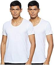 Jockey Men's Half Sleeve Round Neck Vest (Pack o