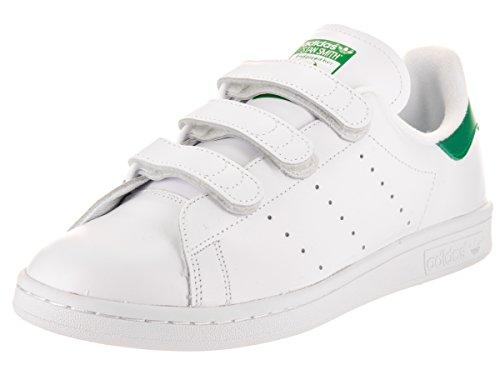 Adidas Stan Smith CF Cuir Baskets Ftwwht-Ftwwht-Green