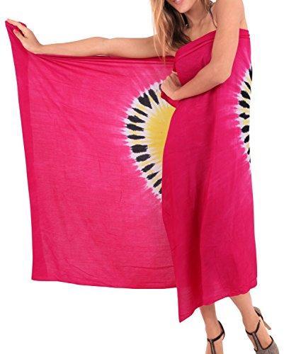 impacco pareo gonna costume da bagno beachwear coprire donne costumi da bagno di usura piscina sarong resort costume da bagno di usura Rosa, 1