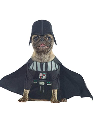 Mops Wars Star Kostüm - Generique - Darth Vader Hundekostüm Star Wars