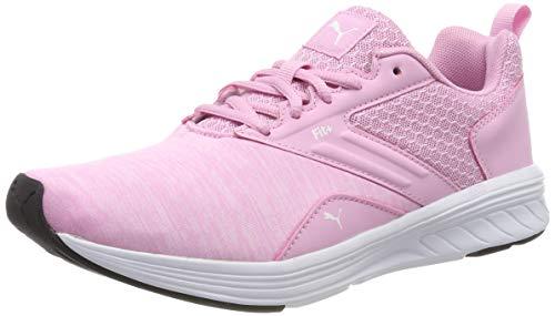 Puma Unisex-Kinder Nrgy Comet Jr Sneaker, Rosa (lilac sachet-puma white),35.5 EU (Kinder-kd-schuhe)