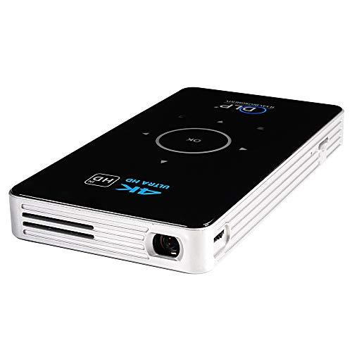 FSM88 Mini-Projektor, Videoprojektor Unterstützt 1080P HD Unterstützt HDMI IN/USB 2.0 / TF-Karte/DC in Geräten für Home Entertainment, Party Hdmi-input-karte
