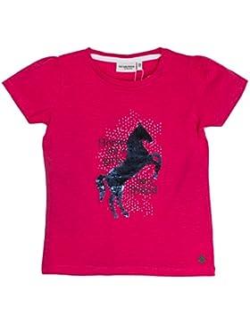 SALT AND PEPPER Mädchen T-Shirt Horses Uni Sequins