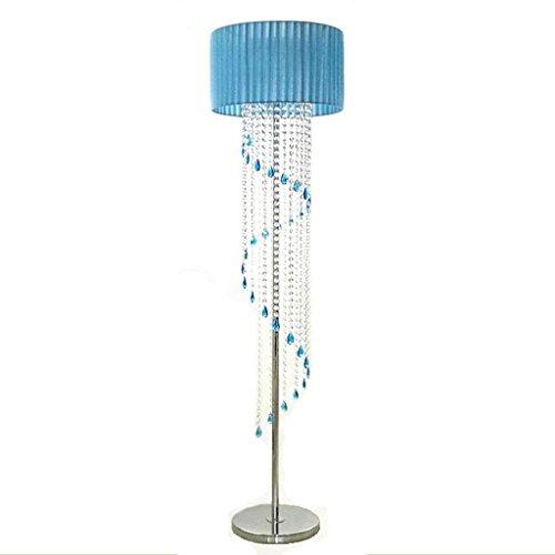 CN Stehleuchte Moderne Stehleuchte Kreative Kristall Stehlampe Wohnzimmer Romantische Studie LED Stehlampe Schlafzimmer Europäische K9 Kristall Bett Lampe,AAA -