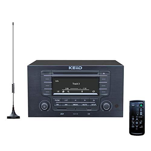 KEiiD CD Player with 4-way 4x20W...