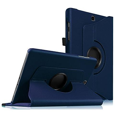 Housse Samsung Galaxy Tab S2 9.7 - Fintie 360° Rotation Housse Rotatif étui Coque avec Rabat/Stand de Positionnement Support et la Fonction Sommeil/Réveil Automatique pour Samsung Galaxy Tab S2 Tablette 9,7