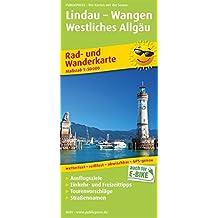 Lindau - Wangen - Westliches Allgäu: Rad- und Wanderkarte mit Ausflugszielen, Einkehr- & Freizeittipps, wetterfest, reissfest, abwischbar, GPS-genau. 1:50000 (Rad- und Wanderkarte/RuWK)