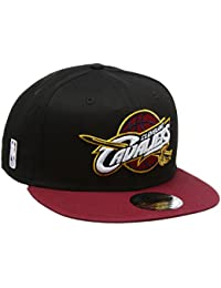 New Era Black Base 9fifty Cleveland Cavaliers, Casquette de Baseball Homme