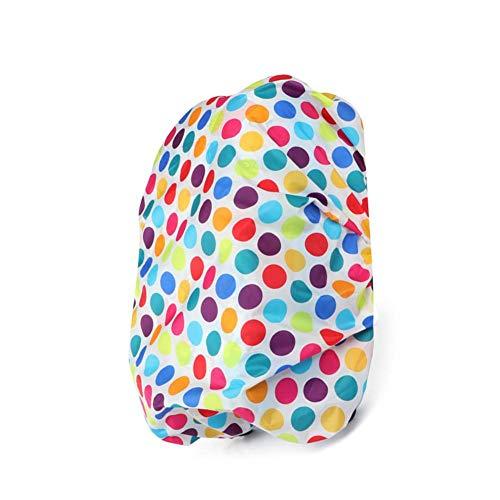 Rubyu Regenschutz für Kind Rucksack Schulranzen wasserdichte Regenhülle Schulranzen mit Reflektorstreifen, für Wandern, Camping, Radfahren, Reisen und Ranzen