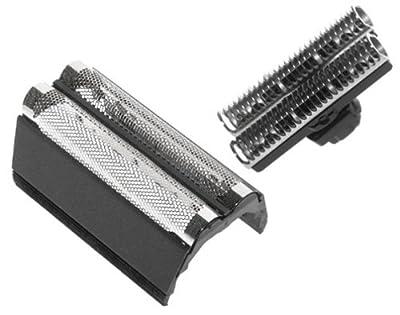 Braun Replacement Foil & Cutter - Flex Control/Twin Control (585), Black