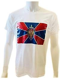 DRAKNET Camiseta de algodón Unisex - FSB - Rusia - Servicio de Seguridad Federal de la