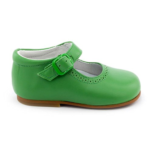 Boni Classic Shoes, Mädchen Schnürhalbschuhe Grün