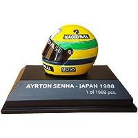 Minichamps Ayrton Senna World Champion Helm Maßstab 1:8