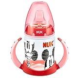 NUK 10215062 - First Choice Trinklernflasche Disney Minnie und Mickey Motiv 150 ml aus PP