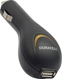 Duracell U8004DU Chargeur allume-cigare USB