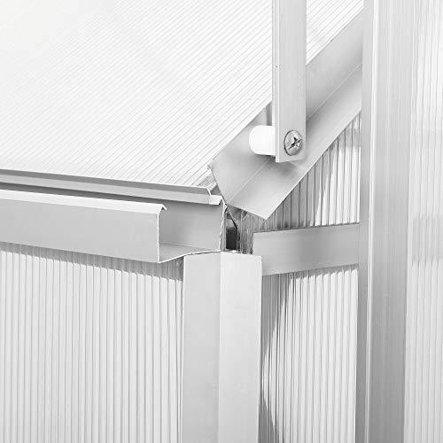 Aluminium Gewächshaus von Zelsius - 7