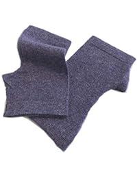 Prettystern - Polsini guanti mezze dita scaldamuscoli per braccia 100% lana  cachemire morbido soft caldo 6a5bf0f89981