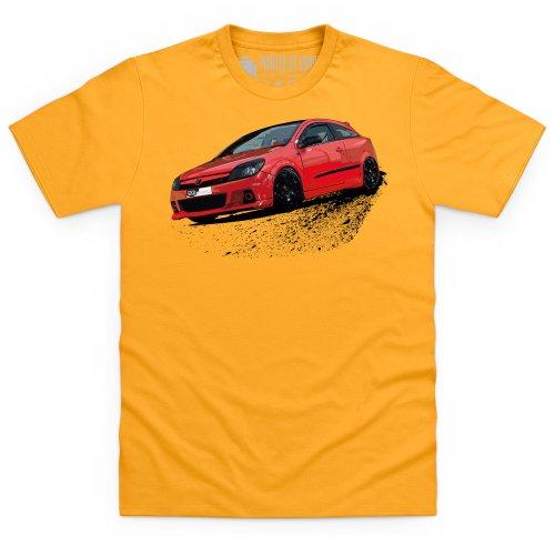Performance Vauxhall T-Shirt, Herren Gelb