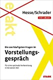 Image de Hesse/Schrader: EXAKT - Die 100 häufigsten Fragen im Vorstellungsgespräch + eBook