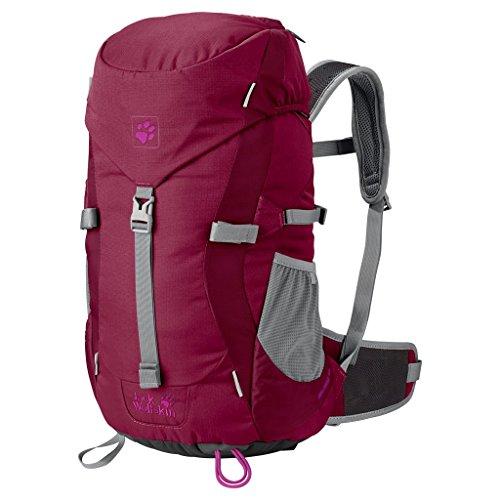 Jack Wolfskin Kinder Rucksack Kids Alpine Trail 2501 dark ruby