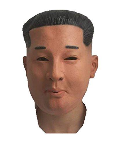 Koreanische Kostüm Und Maske - Rubber Johnnies TM Kim Jong Latex Maske Koreanischer Marktführer Mann Kostüm Fetisch Party Ganz Kopf Maske