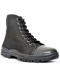 Allen Cooper 7045 Jungle Safety Boot, Size-7 UK, Black