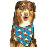Osmykqe Pumpkin Pie Hund Bandana Pet Schal für kleine mittelgroße Hunde Zubehör