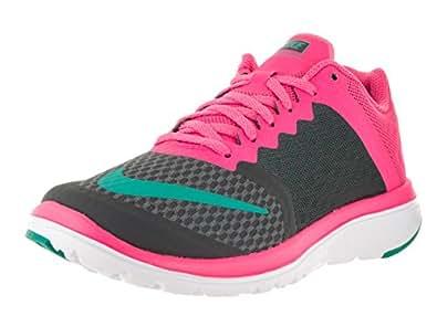 Nike Women s Fs Lite Run Running Shoe Black Drk Grey/Clr Jd Pnk Blst White 9.5 B(M) US
