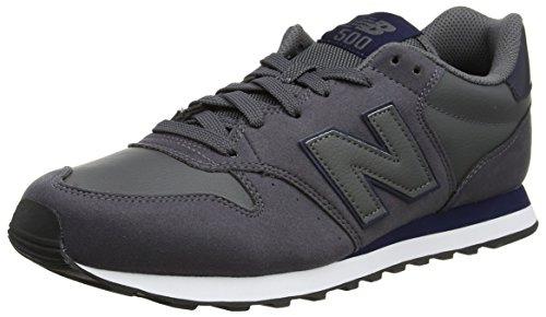 New Balance, Herren Sneaker, Grau (Dark Grey/Navy Dgn), 40 EU (6.5 UK) New Navy Schuhe