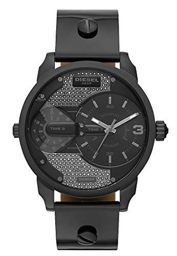 Diesel Damen-Uhren Analog Quarz One Size Leder 87594904