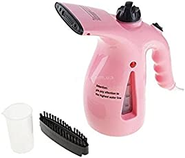 New Electric Garment Facial Steamer Brush for Ironing Clothes Portable Multifunction Pots Steam Face (Colour May Vary)(1-Piece)