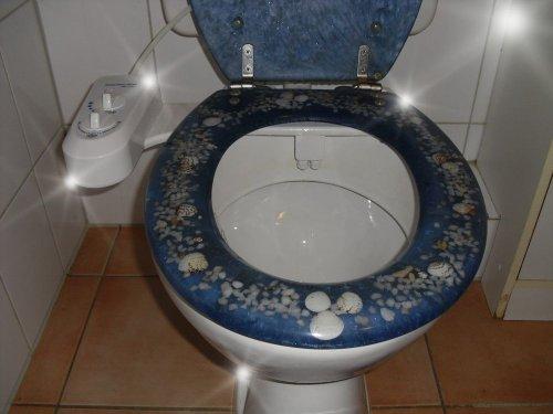 BisBro Deluxe Bidet 1200 - Dusch-WC für Intimpflege - Taharat
